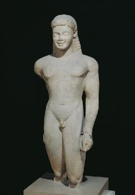 Kouros, from Paros, near the sanctuary of Asklepios