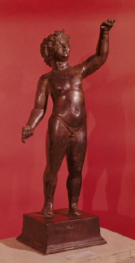 Statuette of a faun, from the Tresor des Sources de la Seine