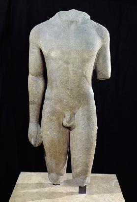 Torso of Kouros, from Actium
