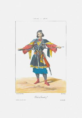 Prince of Imereti (From: Scenes, paysages, meurs et costumes du Caucase)