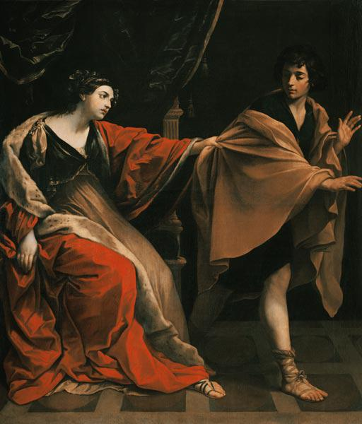 Joseph and the woman of the Potiphar