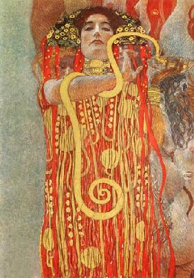 Hygieia (detail from the medicine)