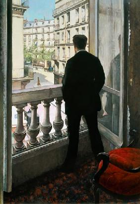 Man at the Window. 1875