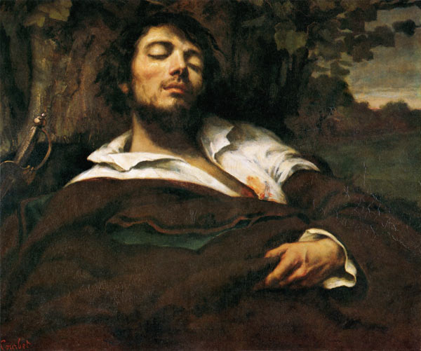 Self Portrait Or The Injured Gustave Courbet As Art