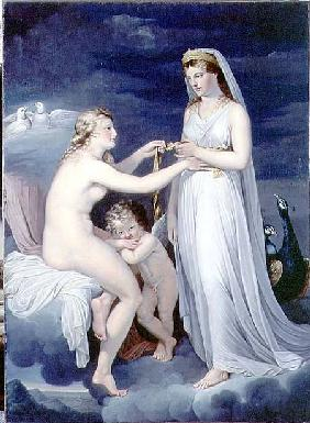 Juno Borrowing the Girdle of Venus