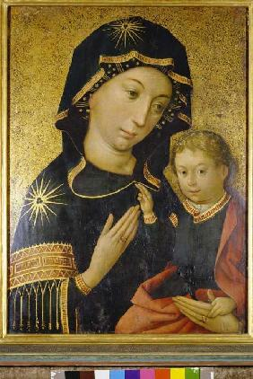 Maria with the Jesusknaben Hindelanger Madonna.