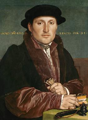 Portrait of a young merchant (angebl Hans of muzzle from Nuremberg)