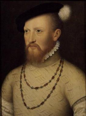 Sir Edward Seymour (later Duke of Somerset): (panel)