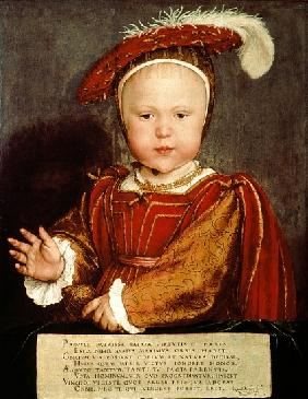 Portrait of Edward VI as a child, c.1538