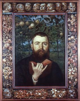 Hans Thoma , Self-portrait