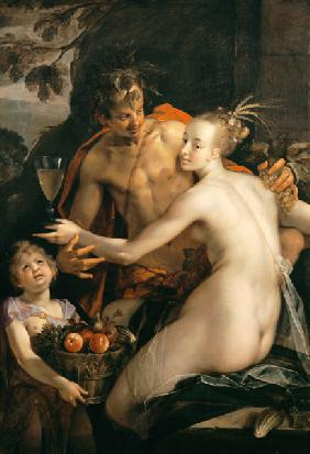 Bacchus, Ceres and Amor