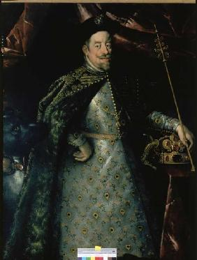 Emperor Matthias (1557-1619) as a king of Bohemia (part)