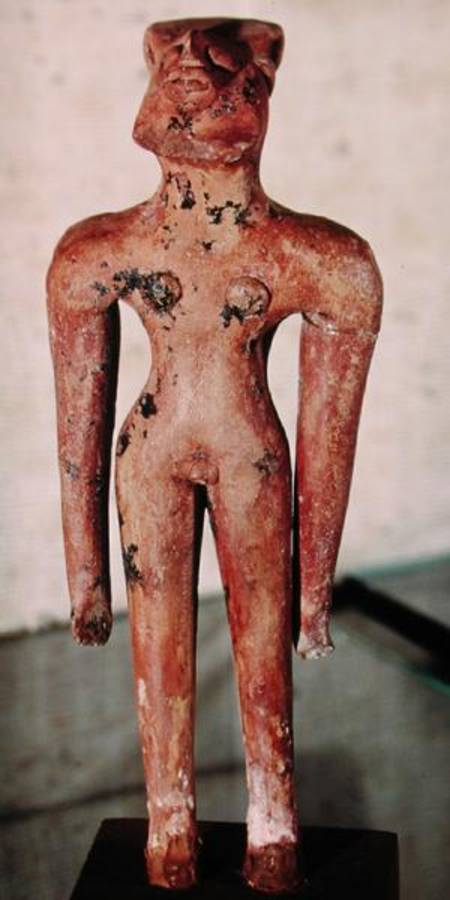 Image: Harappan - Figure of a hermaphrodite, from Mohenjo-Daro, Indus ...