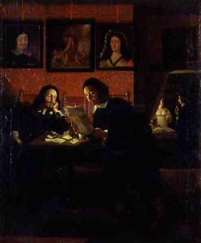 Two Men in a Studio