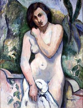 Nude at LAloes, Jeanne, 1907