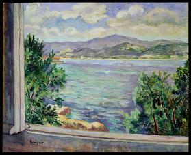 The Gulf of St. Tropez from the Oustalet, 1931