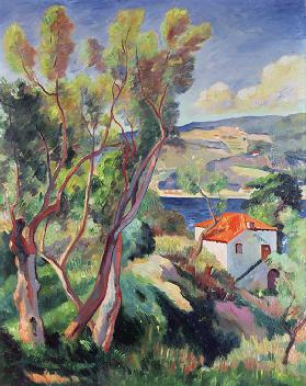 The Route to Villefranche, 1913