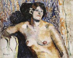 Nude Sitting; Nu Assis, 1901
