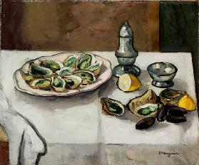Still Life with Oysters, 1908