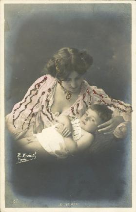 Child with his mother