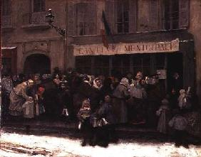 A Soup Kitchen during the Siege of Paris