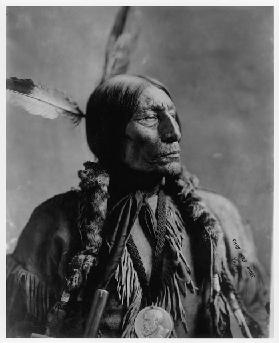 Portrait of Chief Wolf Wrobe