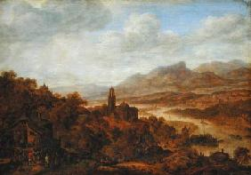Landscape with the River Rhine