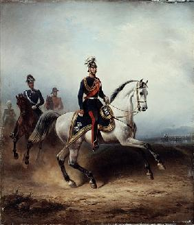 Frederick III Wilhelm on the Bornstedter Field