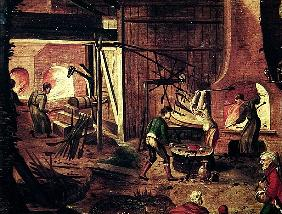 Landscape with Forge (detail of 316368)