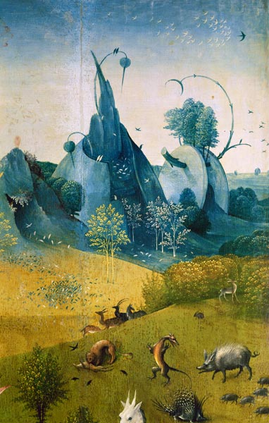Garten Der Lüste Hieronymus Bosch As Art Print Or Hand Painted Oil