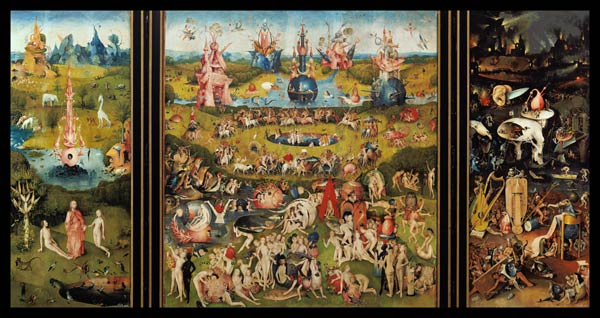 The Garden of Earthly Delights Hieronymus Bosch as art print or