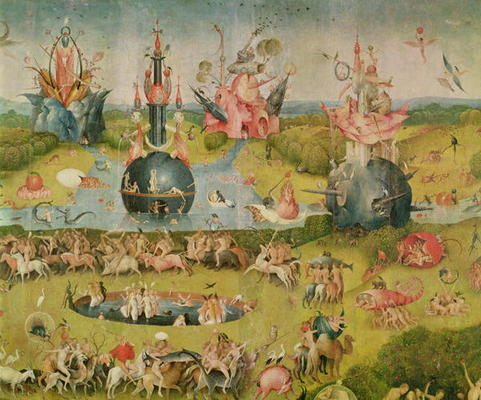 The Garden Of Earthly Delights Allegory Hieronymus