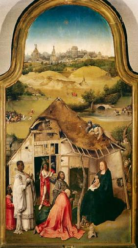 The adoration of the kings - middle panel of the Epiphanie triptych.
