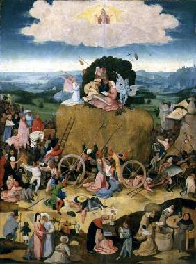 The Haywain: central panel of the triptych