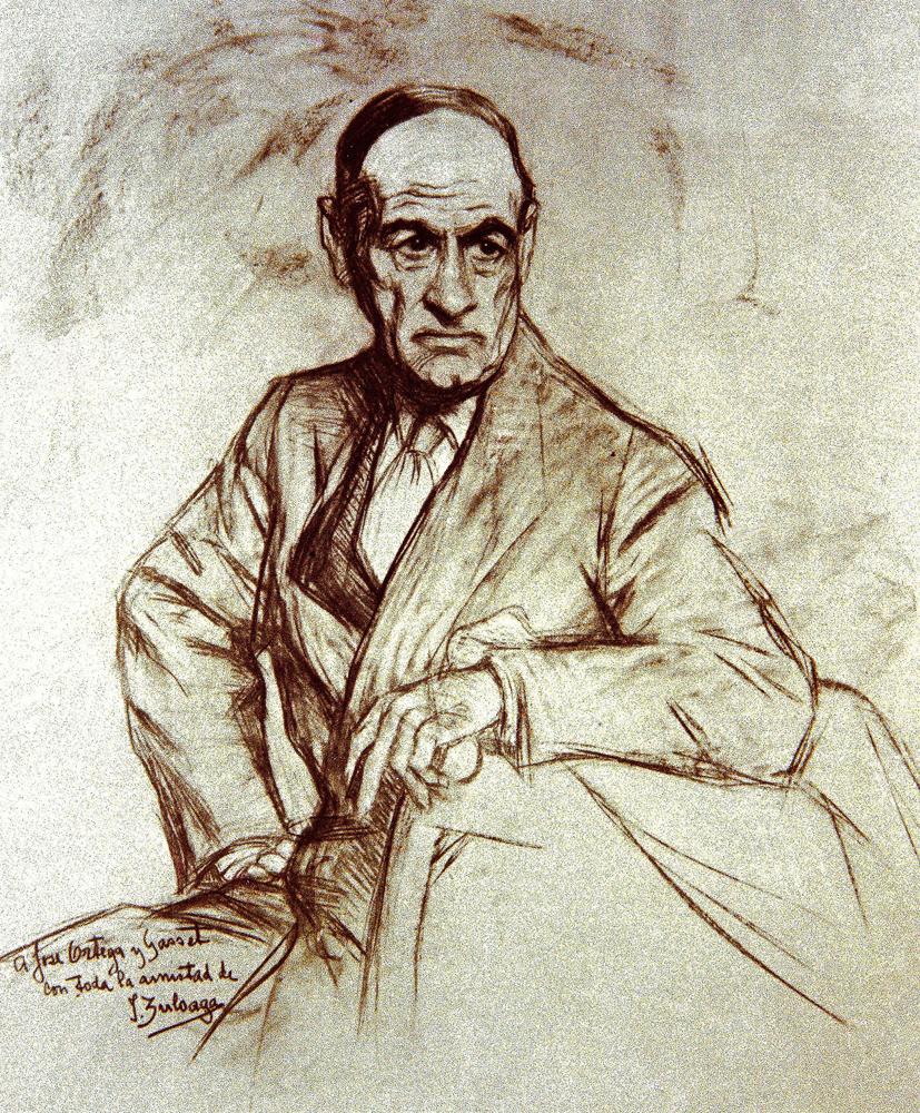 Ortega Y Gasset Jose 1883 1955 Filosof As Art Print Or
