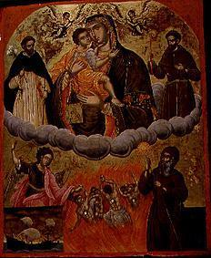The Mother of God Geykophilousa with saints