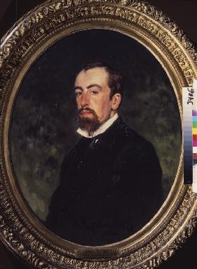 Portrait of the artist Vasili Polenov (1844-1927)