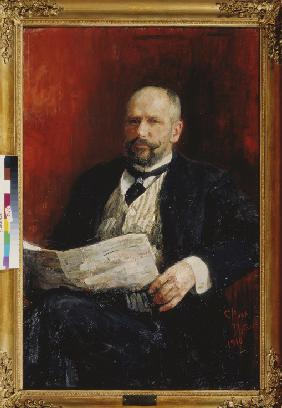 Portrait of the Prime minister Pyotr A. Stolypin (1862-1911)