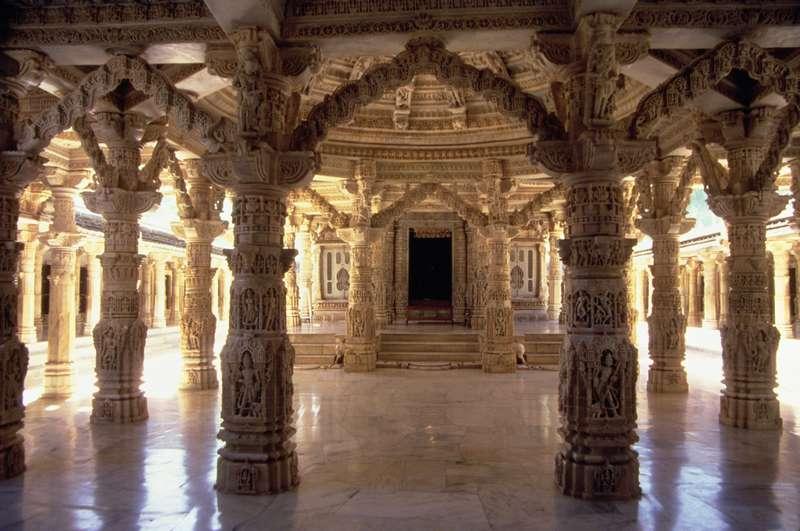 Inside A Hindu Temple ...