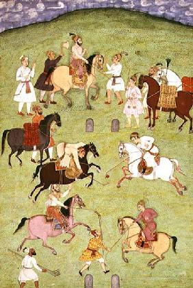 A Game of Polo, from the Large Clive Album