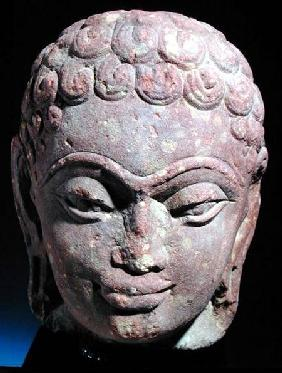 Head of a Jain Tirthankara, Mathura Region, Kushan period