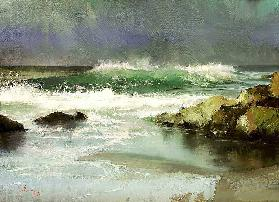 The first autumn storm