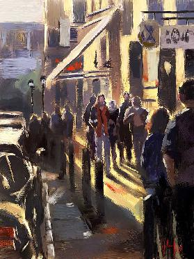 afternoon sun