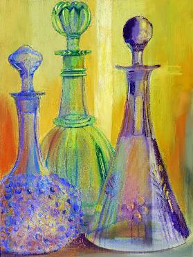 color composition with glass
