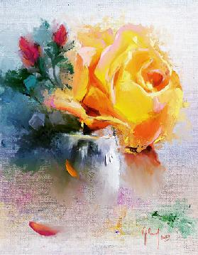 Still Life with Rose 2
