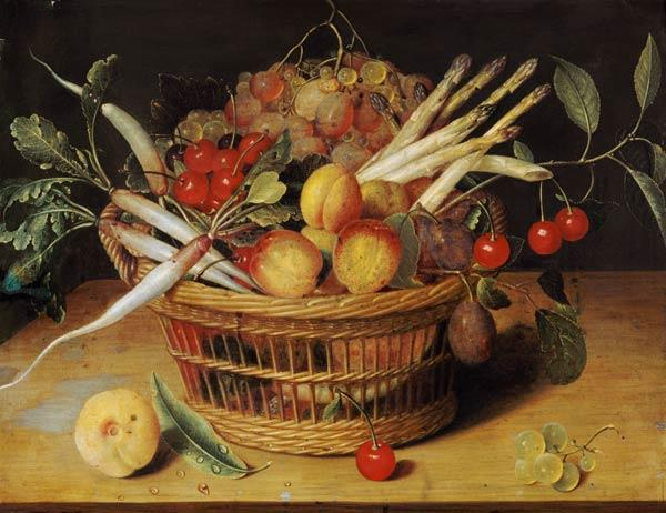 Vegetables and fruit still life