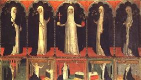 St. Catherine and four Dominican Saints
