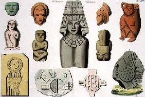 Central American Antiquities, plate 46 from 'The History of the Nations'