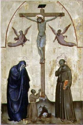 Crucifixion with St. Franc...
