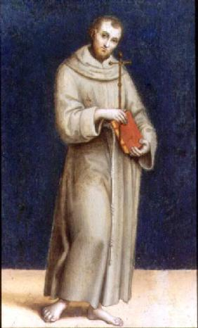 Figure of a Franciscan Mon...